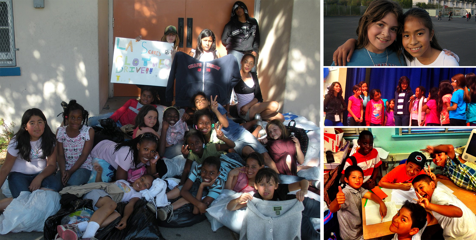 Los Angeles America Scores Community Service