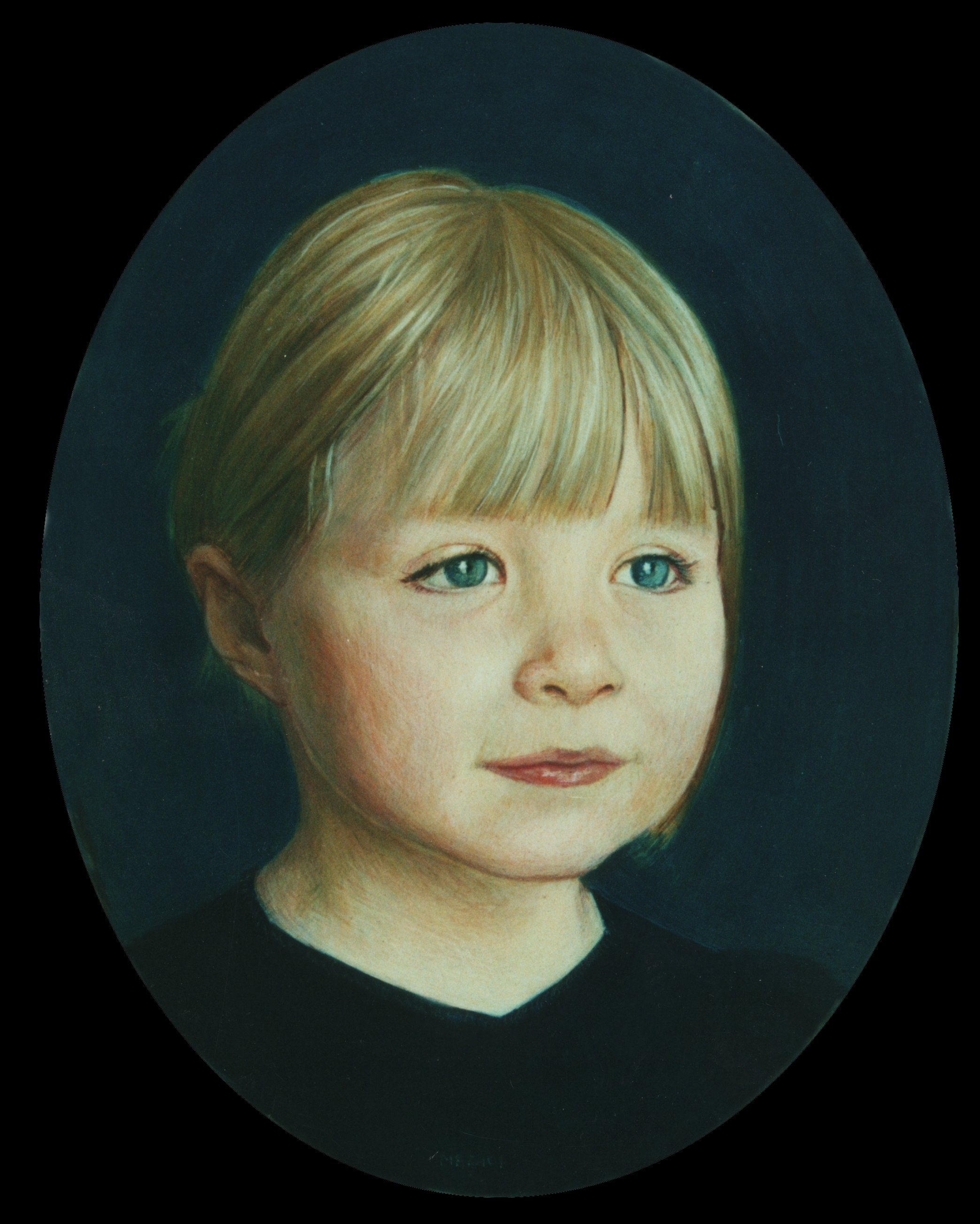 Francesca  Egg Tempera on Gesso, 14 x 11 inches  -Sold-