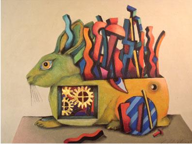 GUNTER JUNGHANS, Rabbit. £445.