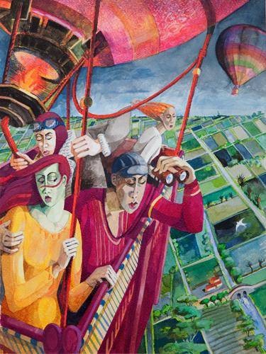 Flying High by  Angela Brittain