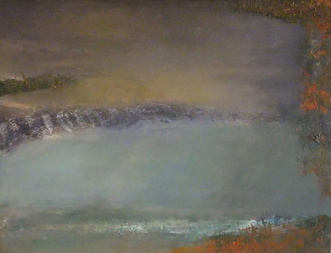 ROANNE MARTIN, The Pond. £1,600.