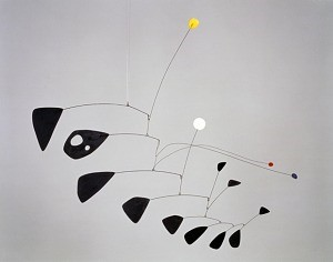 Alexander Clader, Antennae with Red and Blue Dots.