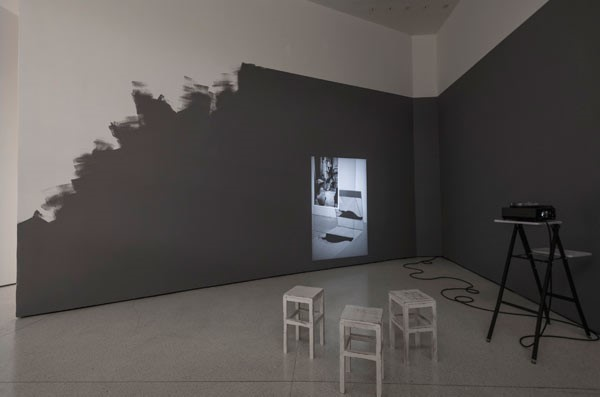 Kathrin Sonntag Installation view:Photo-Poetics: An Anthology, Solomon R. Guggenheim Museum, New York. Photograph: David Heald