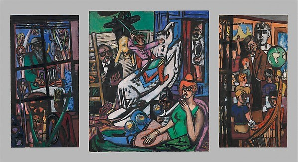 Max Beckmann, Beginning, 1949, oil on canvas