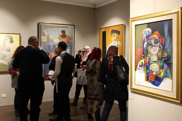 'Picasso East' is the first art gallery in New Cairo.