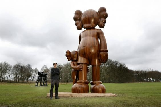 Courtesy the artist and YSP KAWS, Small Lie (detail), 2013