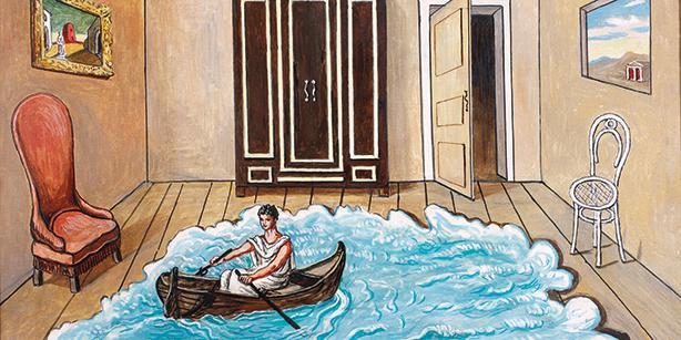 The Return of Ulysses, oil on canvas by Giorgio de Chirico (1968)