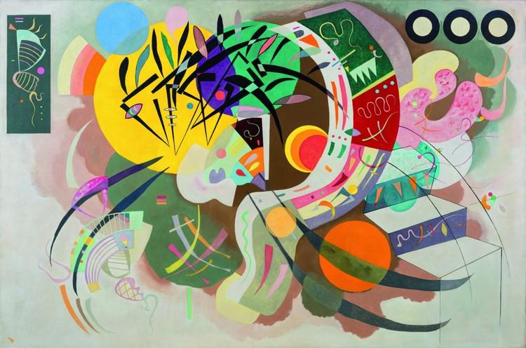 Vasily Kandinsky, Dominant Curve (1936)