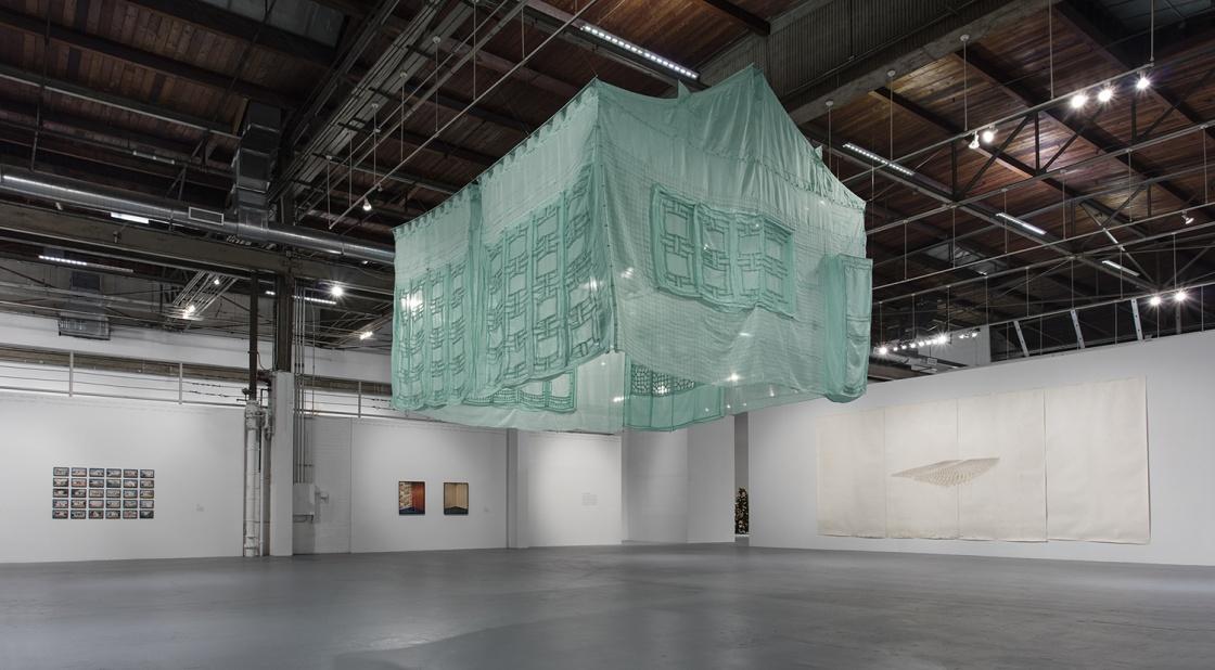 """Installation view, photo"""" Brain Forrest"""