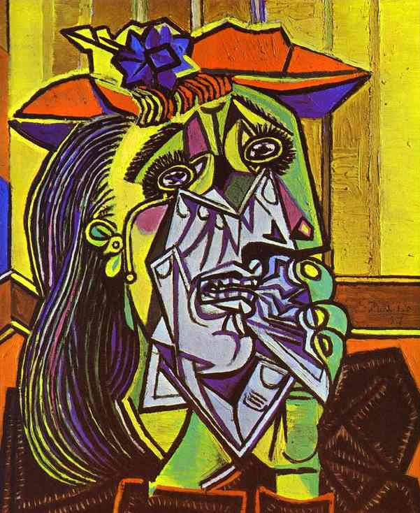 Picasso, The Weeping Woman (1937)