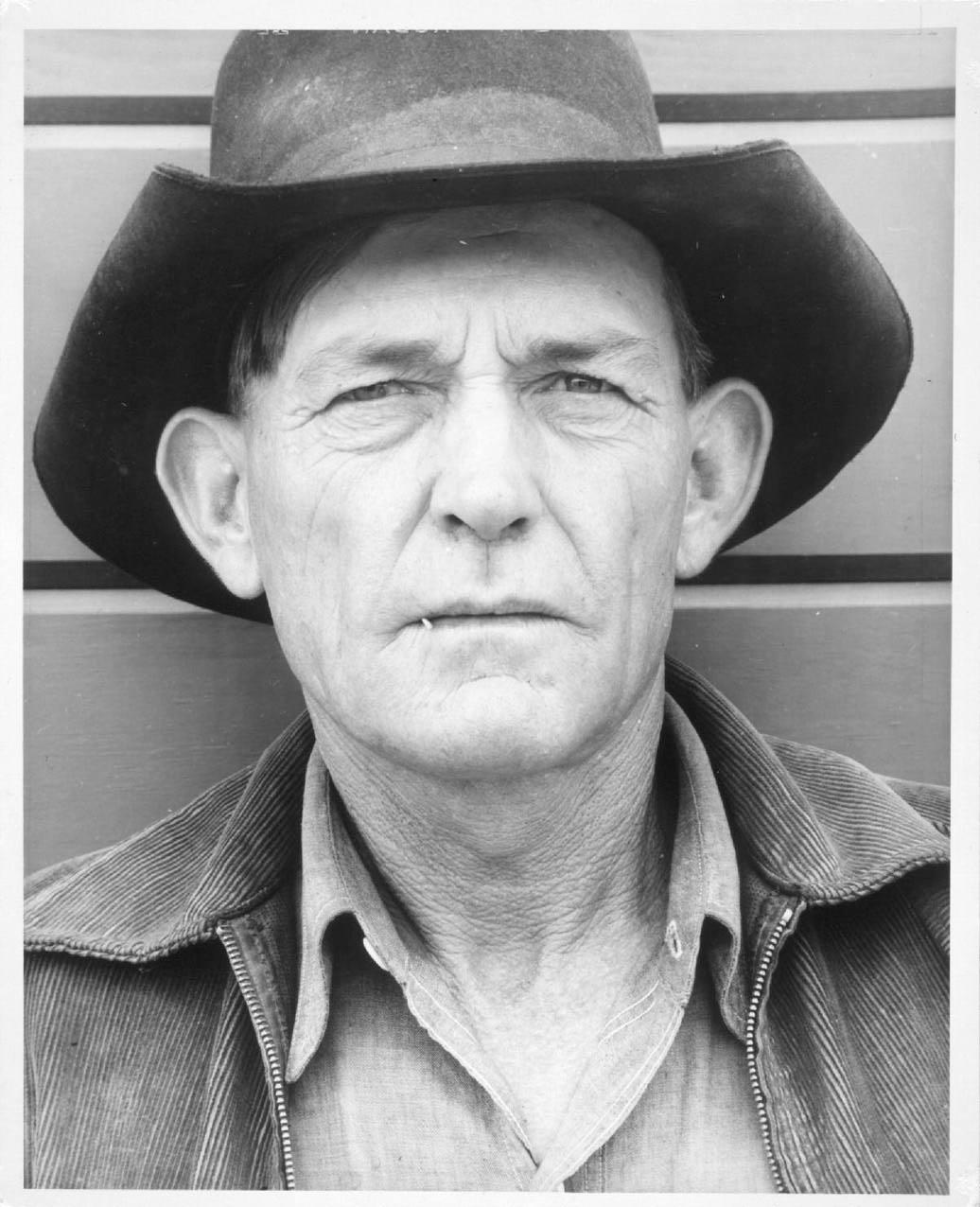 Arthur Rothstein, Migrant Field Worker (1940)