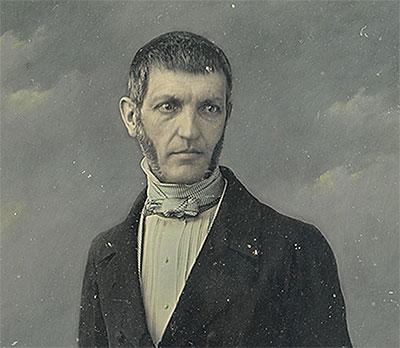George Bancroft by John Jabez Edwin Mayall / Half-plate daguerreotype (hand-colored), c. 1847