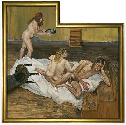 Lucian Freud – After Cezanne (1999-2000)