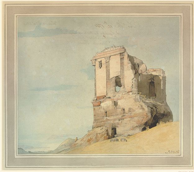 A Sepulchre by the road between Rome and the Pinte Nomentana, 1780