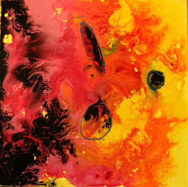 JONATHAN NEWEY, Black Fire. £1,200.