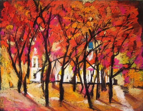 VASILE DOHOTARU, Autumn in Chisinau