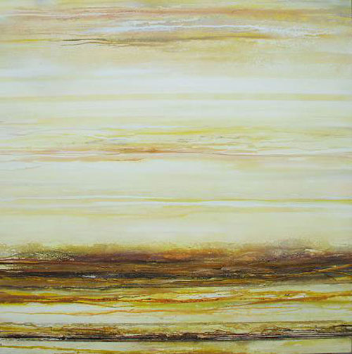 MIKE BELL, Roman Wall Country Sepia & Yellow
