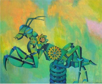 GUNTER JUNGHANS, The praying mantis