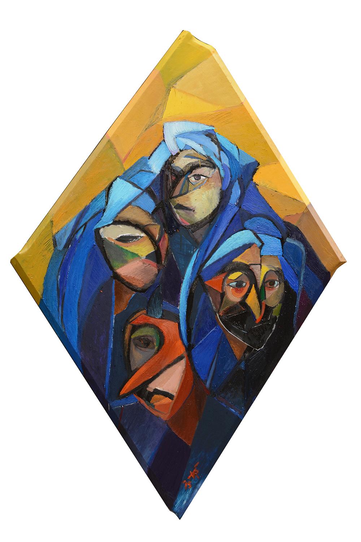 ALEXANDRA RAMIREZ, Femmes Touareg