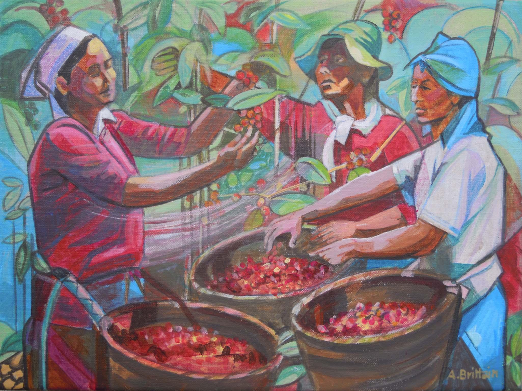 ANGELA BRITTAIN, Coffee Growers