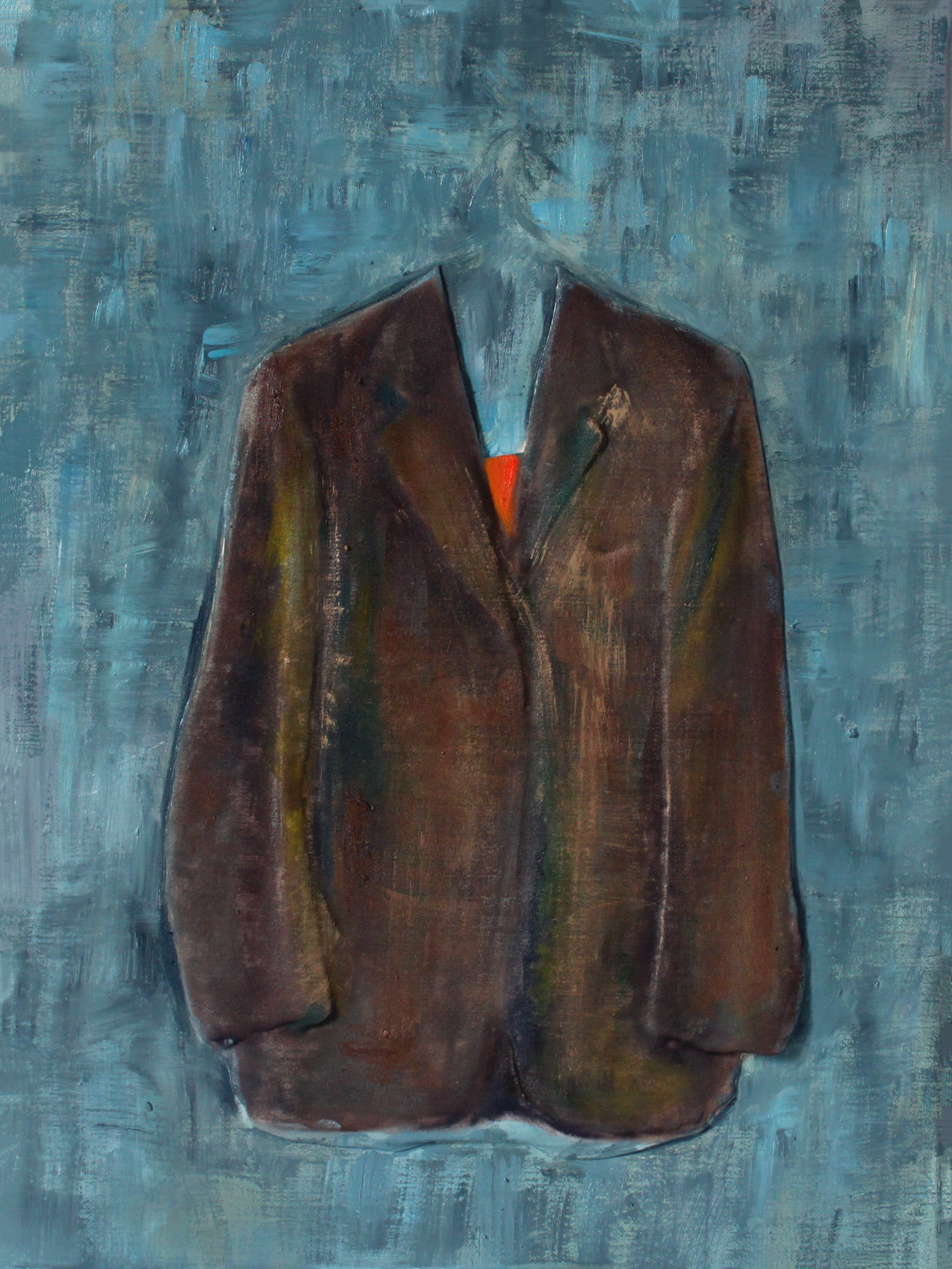 GUIDO SALIMBENI, Jacket Brown On Blue