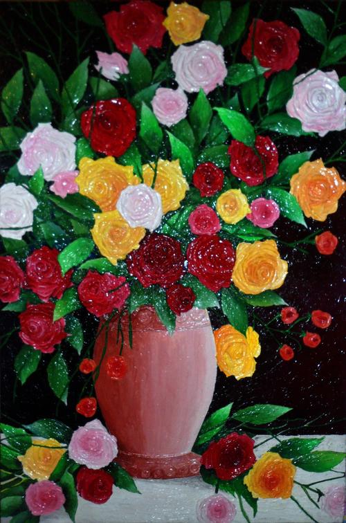 AKTHER BANO, Queen Elizabeths Roses