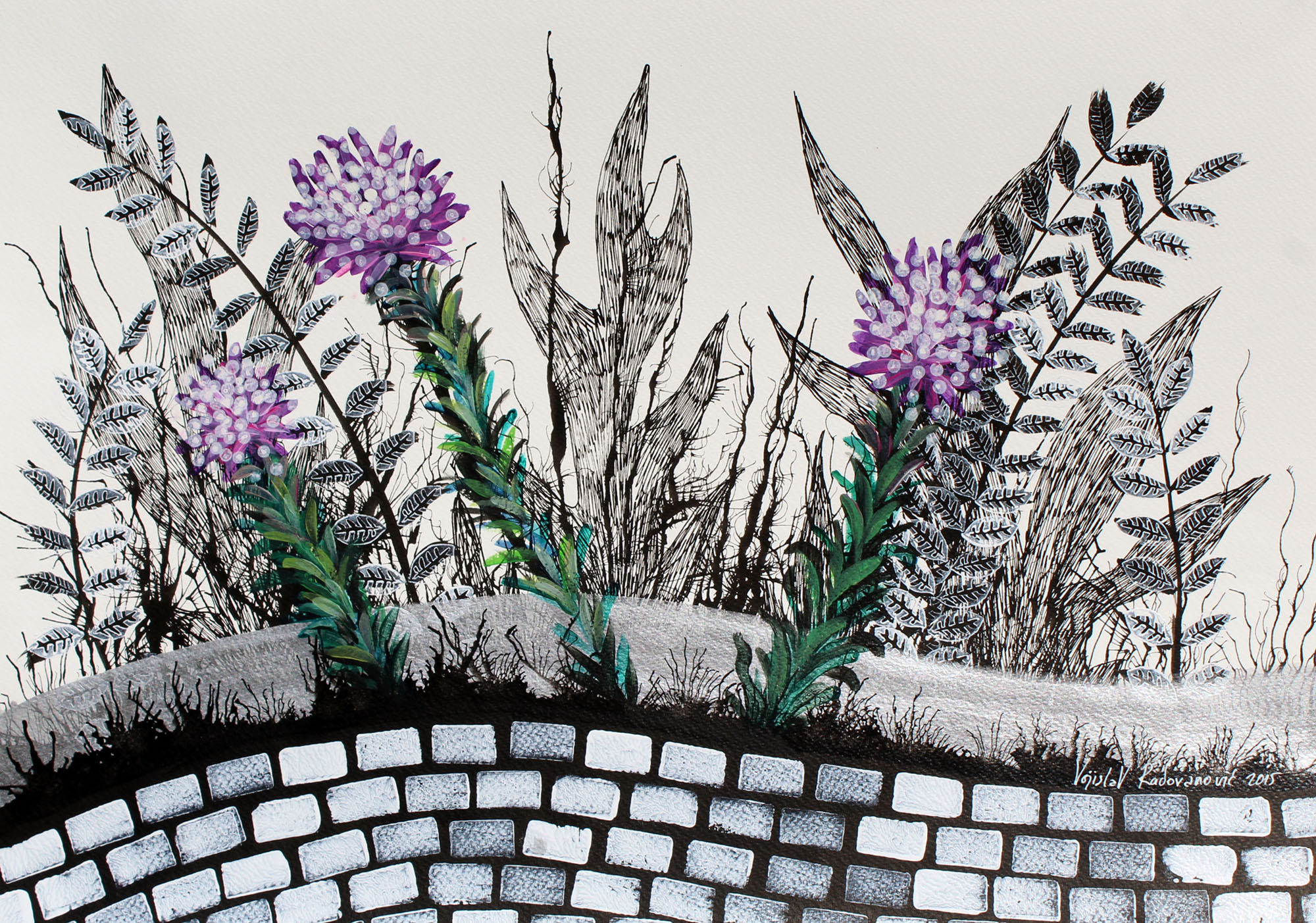 VOJISLAV RADOVANOVIC, Flowers