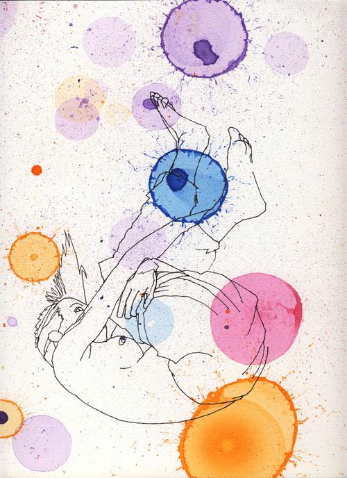 SOPHIA BURNS, Cosmic Spin