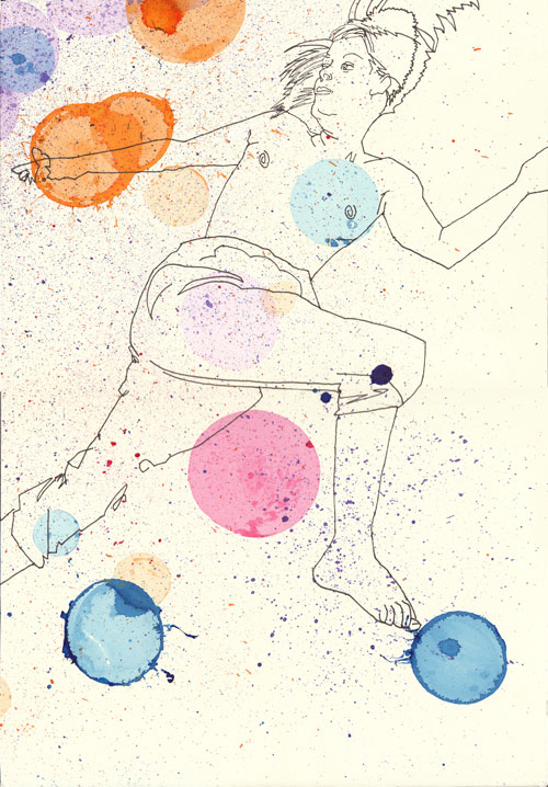 SOPHIA BURNS, In motion II