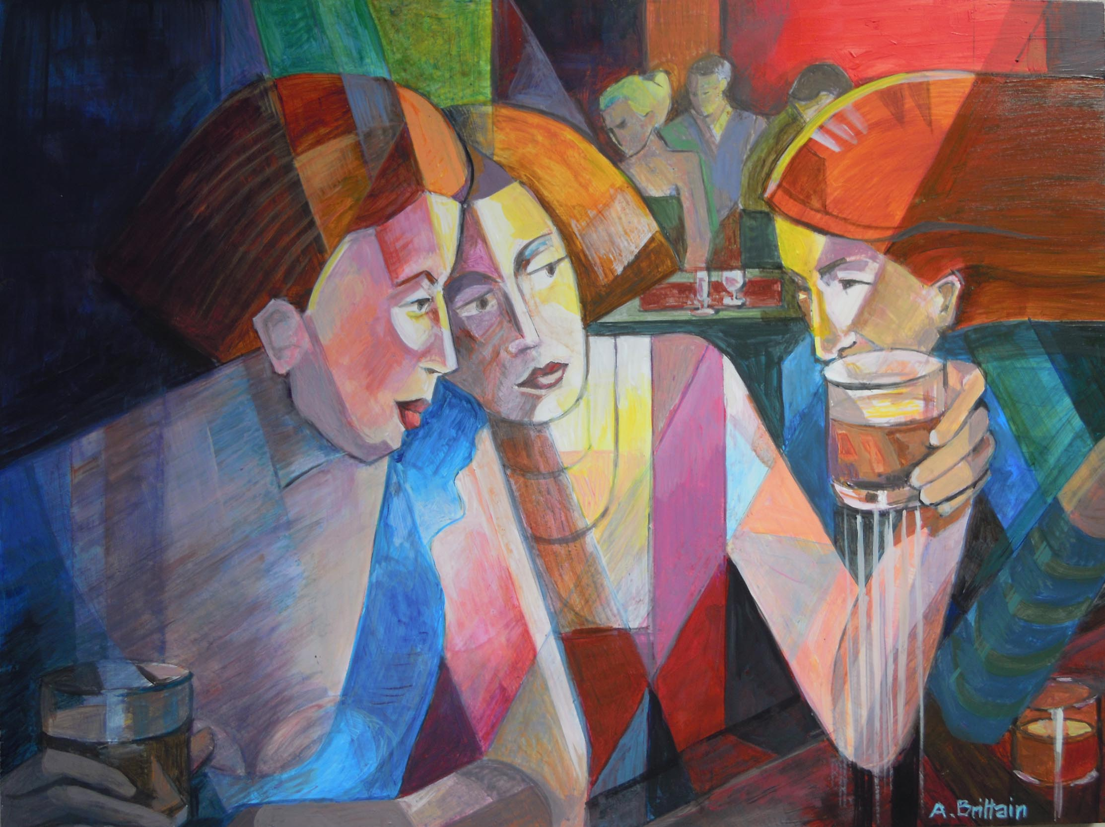 The Three Of Us by Angela Brittain
