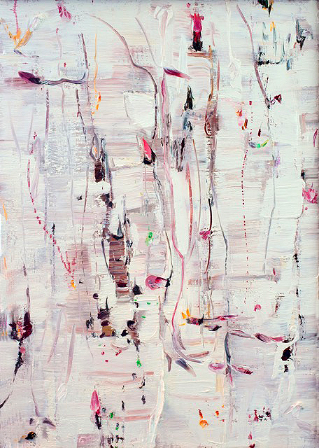 Abstract artwork, White Series by Anthony Oliver