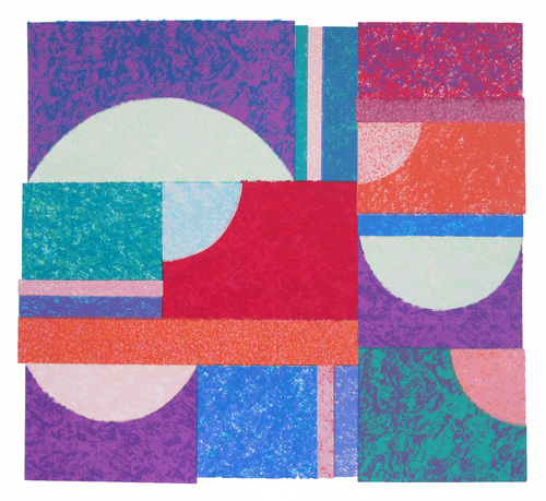 £310  Purple Doorway by Christine Calow