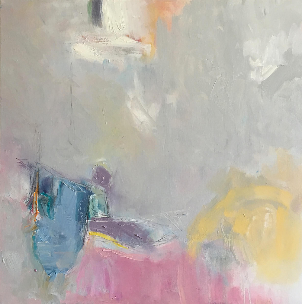 £930. Oil on canvas.  How Often Have You Sailed into My Dreams at Night by Iaysah Salih