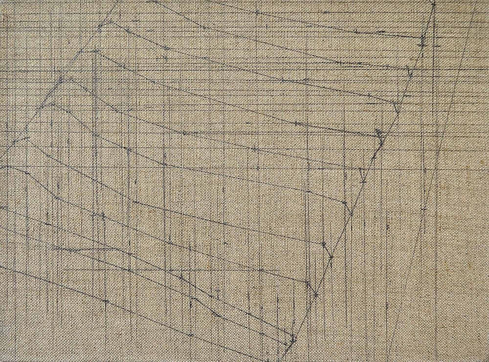 £380.Graphite on Linen.  Ship Shape and Bristol Fashion No. 4  by James Reynolds.