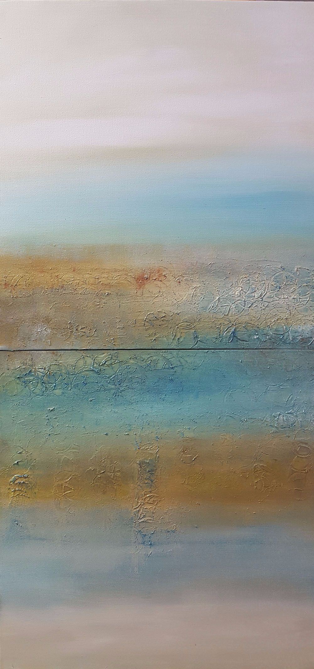 KAREN MOEHR, Reflections On The Day. £450.