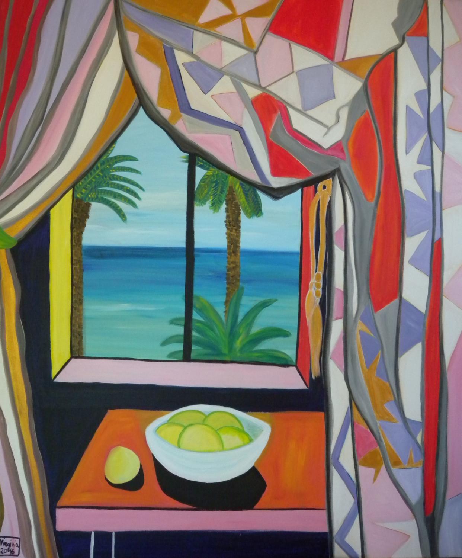 VIRGINIA DI SAVERIO, Window with a view. £1676.