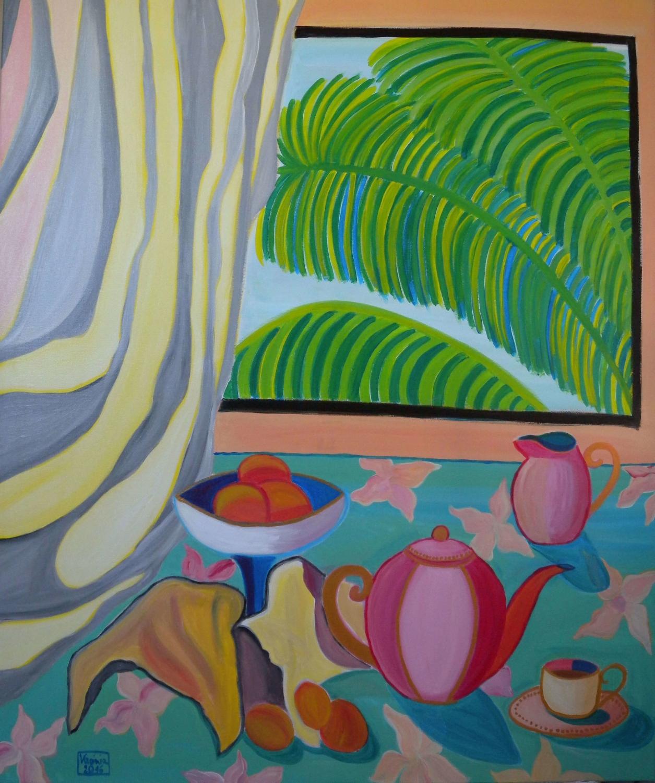 VIRGINIA DI SAVERIO, Tropical window. £1400.