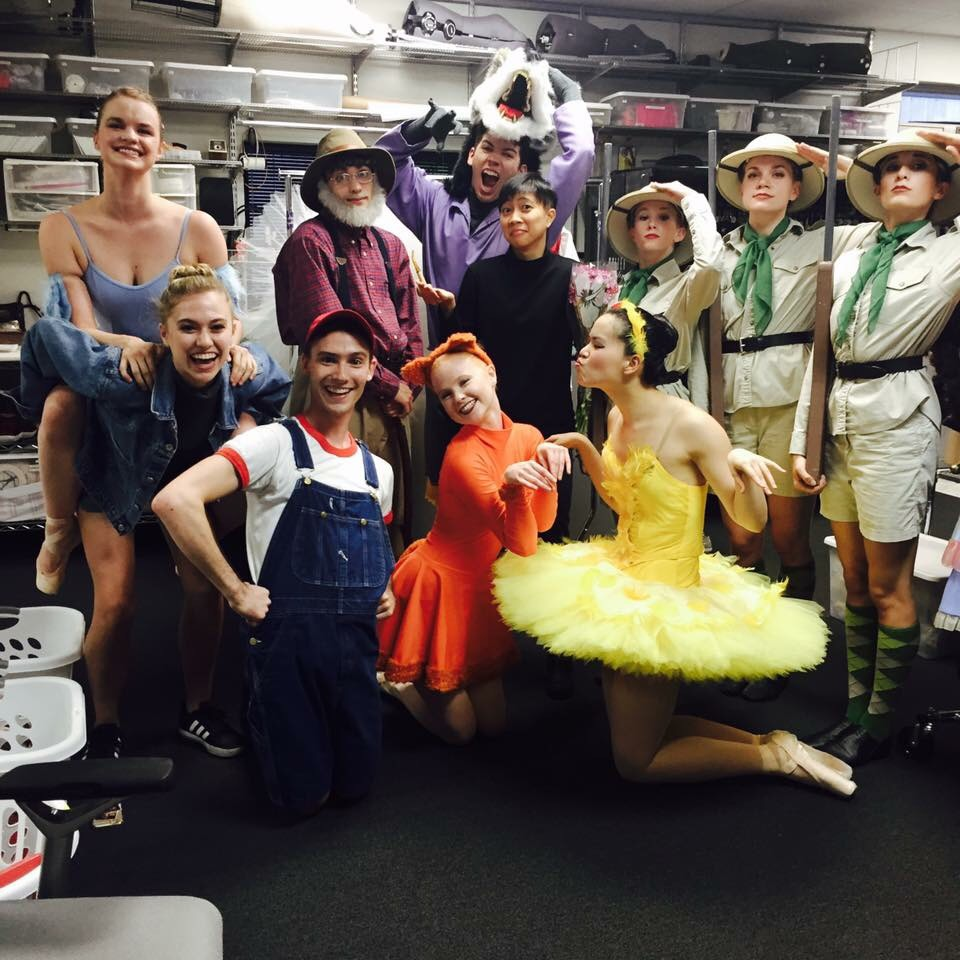 Ballet Austin's Second Company Cast for Peter and the Wolf after the last show