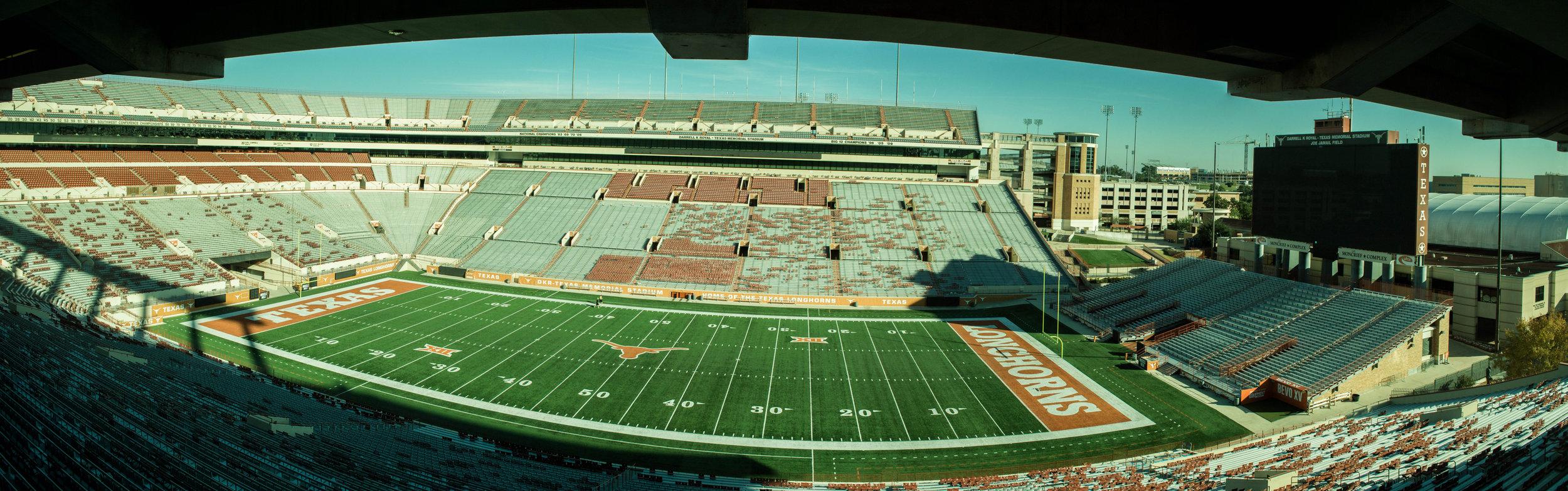 Darrell K Royal- Texas Memorial Stadium