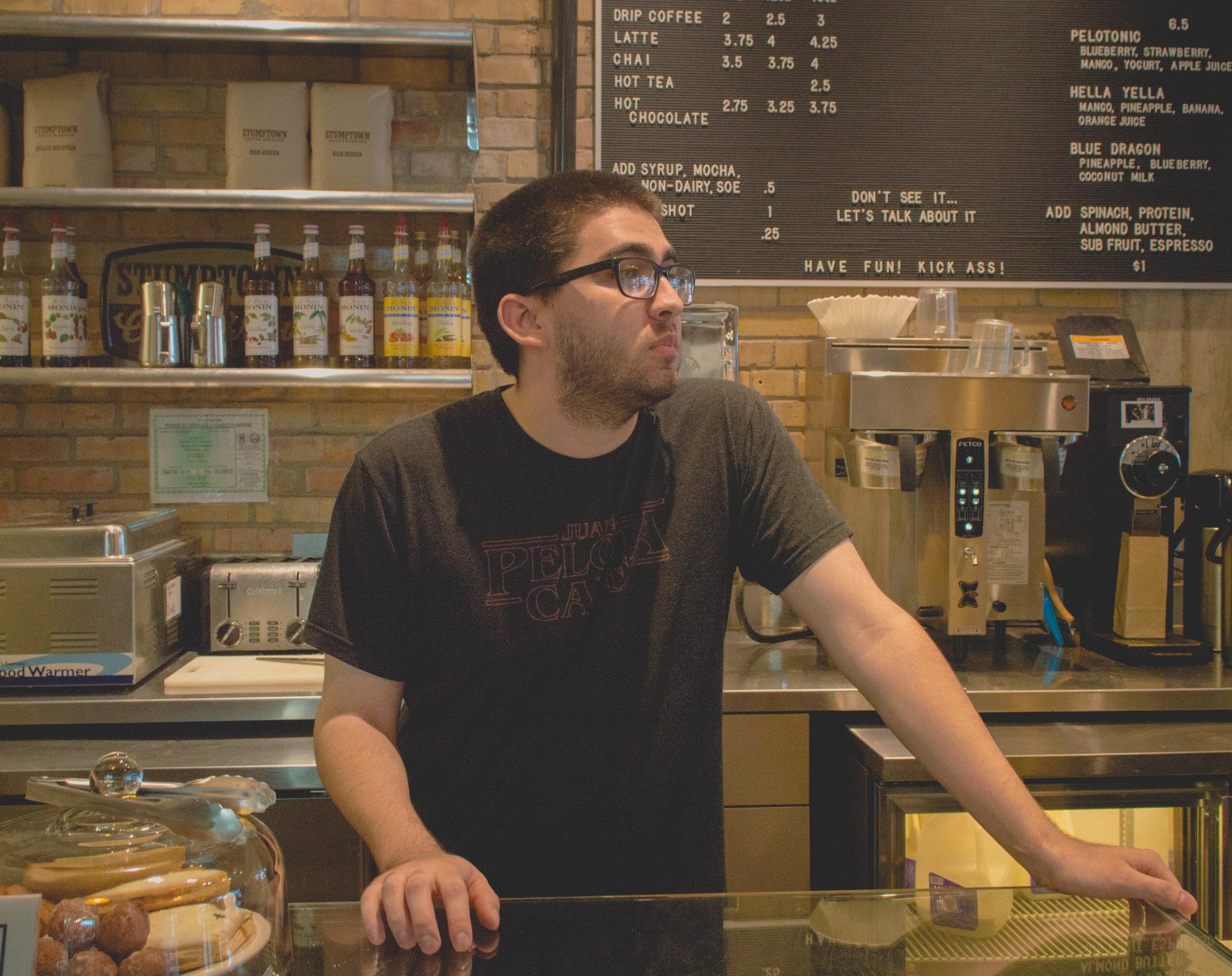 Daniel from Juan Pelota Cafe
