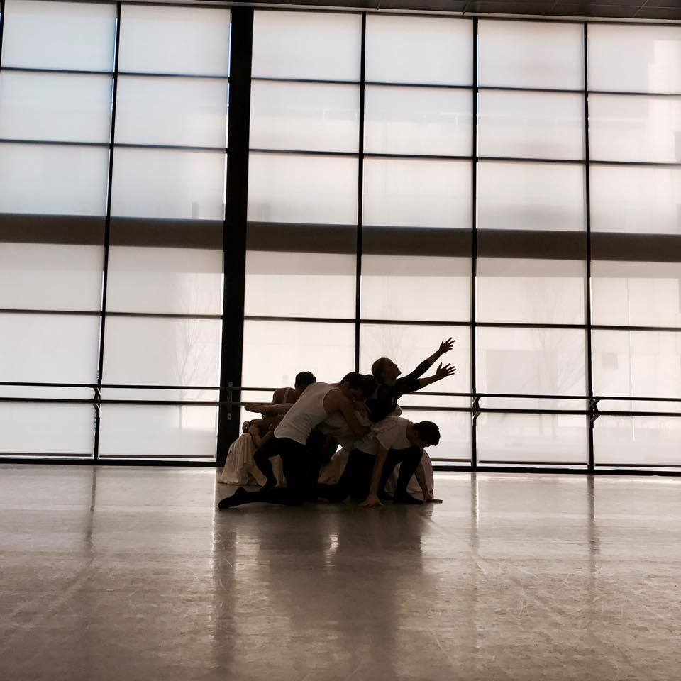 This is the last moment of the entire ballet representing hope for the future.