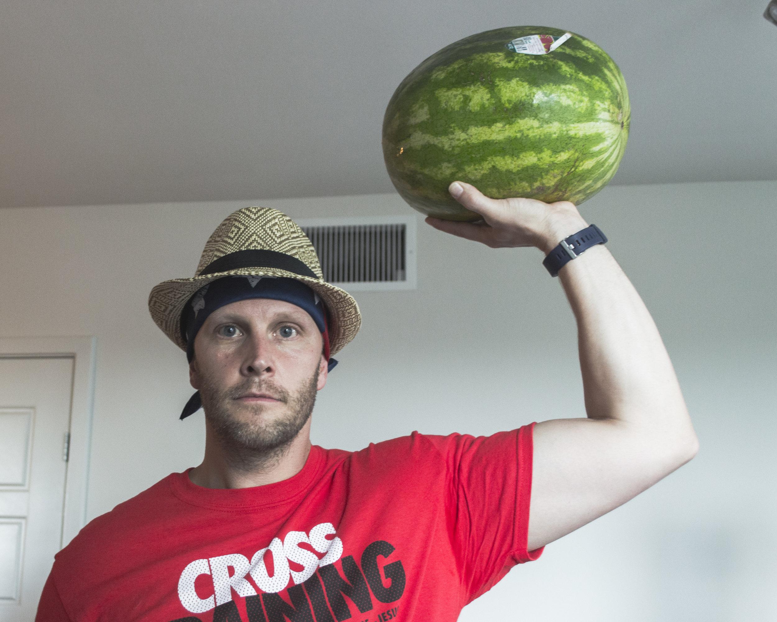 Watermelon is healthy!