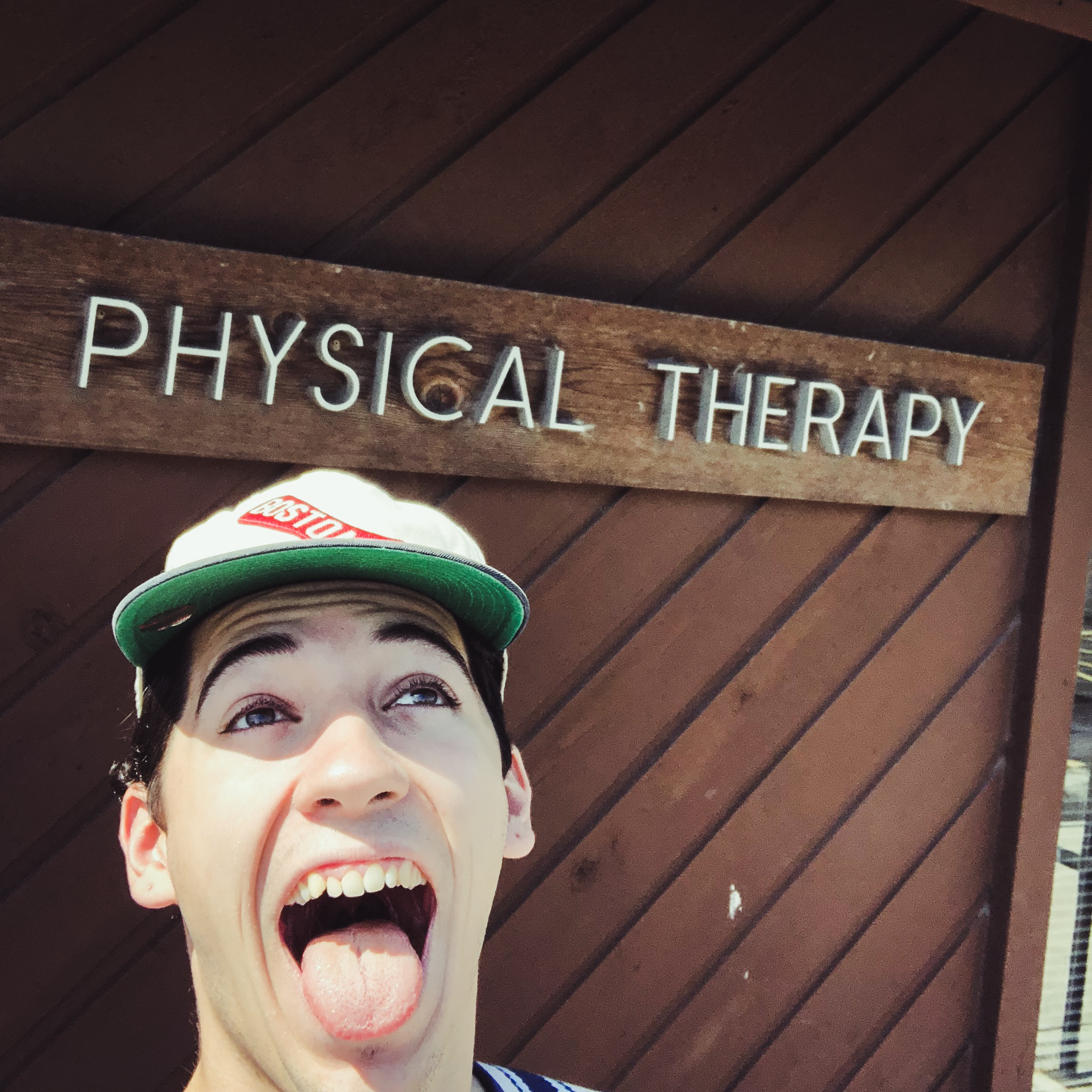 Celebrating the end of physical therapy