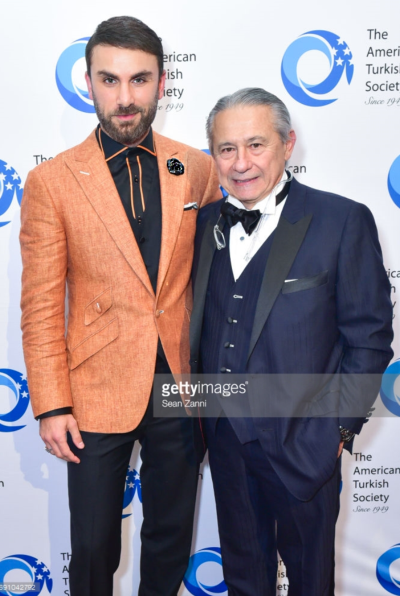 Peyman Umay and Dr. Tamer Seckin attend The American Turkish Society 2017 Gala Dinner at 583 Park Avenue on May 31, 2017 in New York City