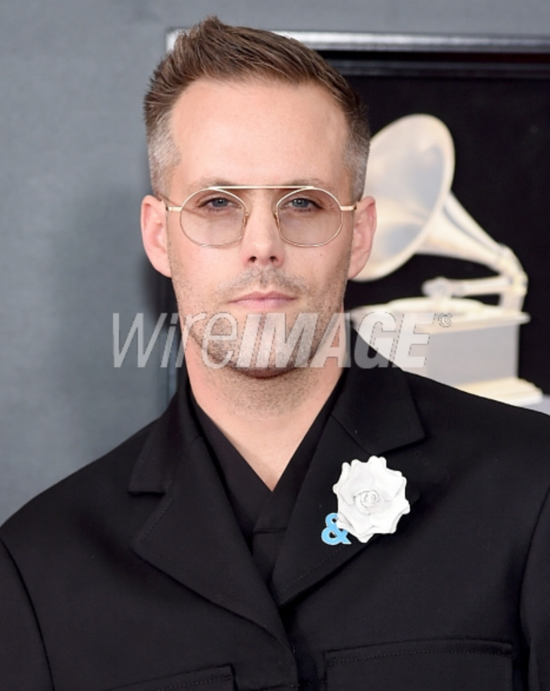Recording artist Justin Tranter attends the 60th Annual GRAMMY Awards at Madison Square Garden on January 28, 2018 in New York City.png