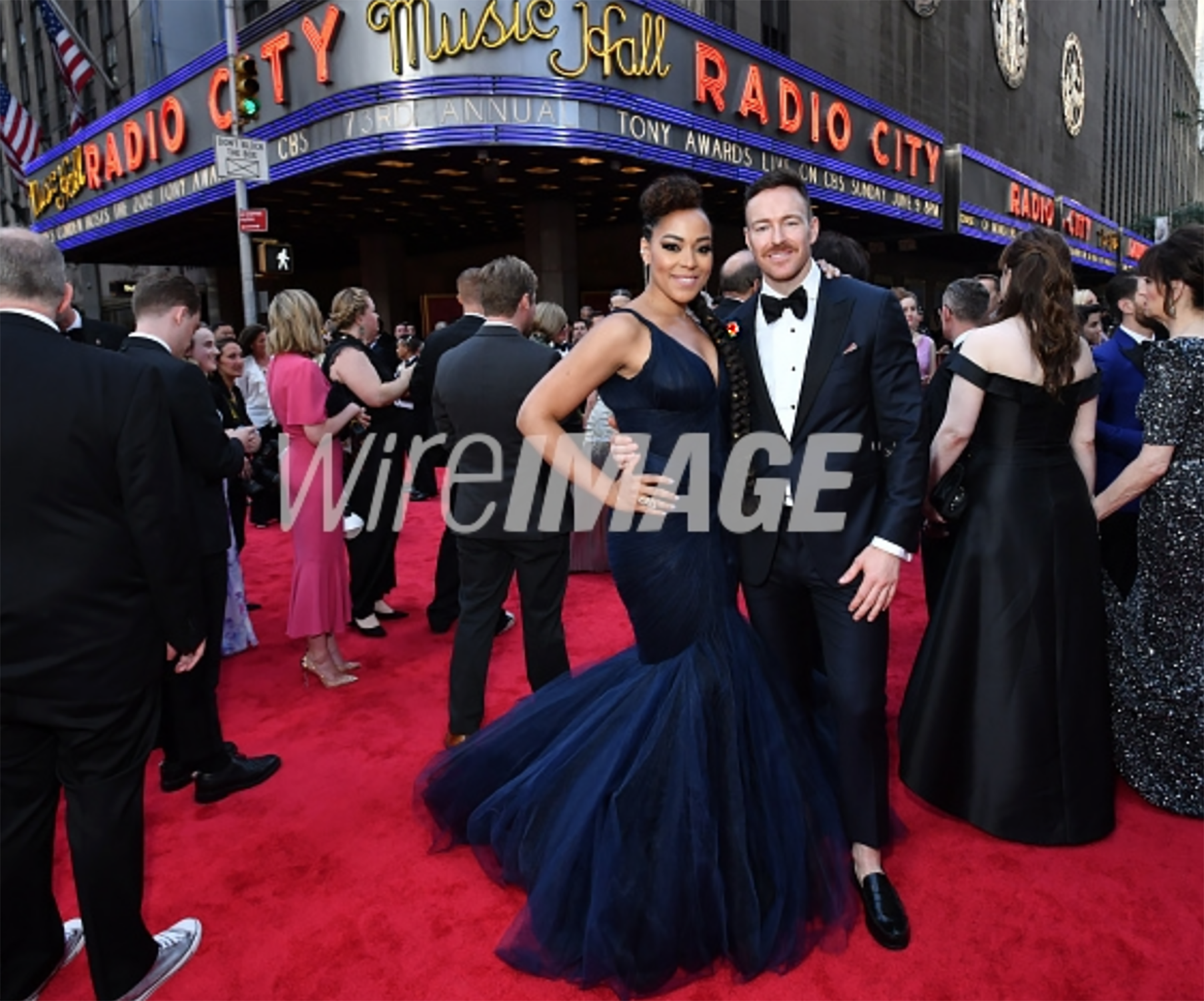 Lilli Cooper (L) attends the 73rd Annual Tony Awards at Radio City Music Hall on June 09, 2019 in New York City. (Photo by Bryan Bedder:Getty Images for Tony Awards Productions).png