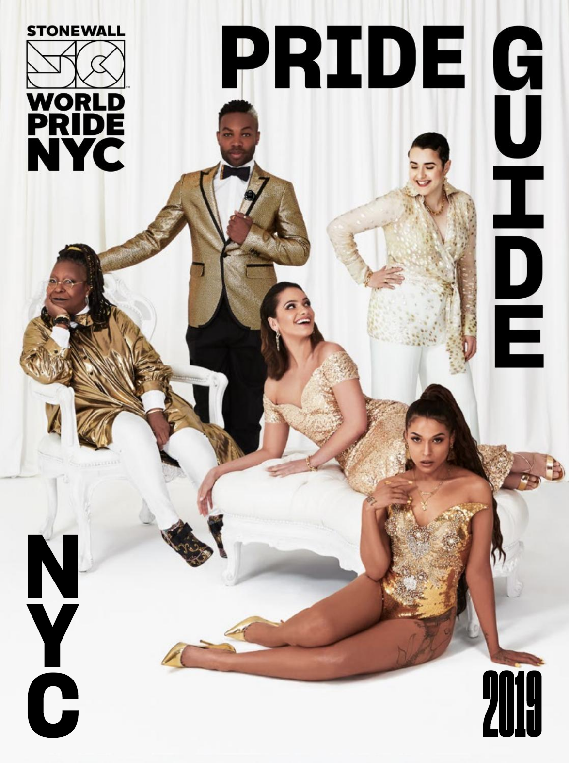 2019 NYC WorldPride Official Pride Guide Cover ft. Fleur'd Pins.png