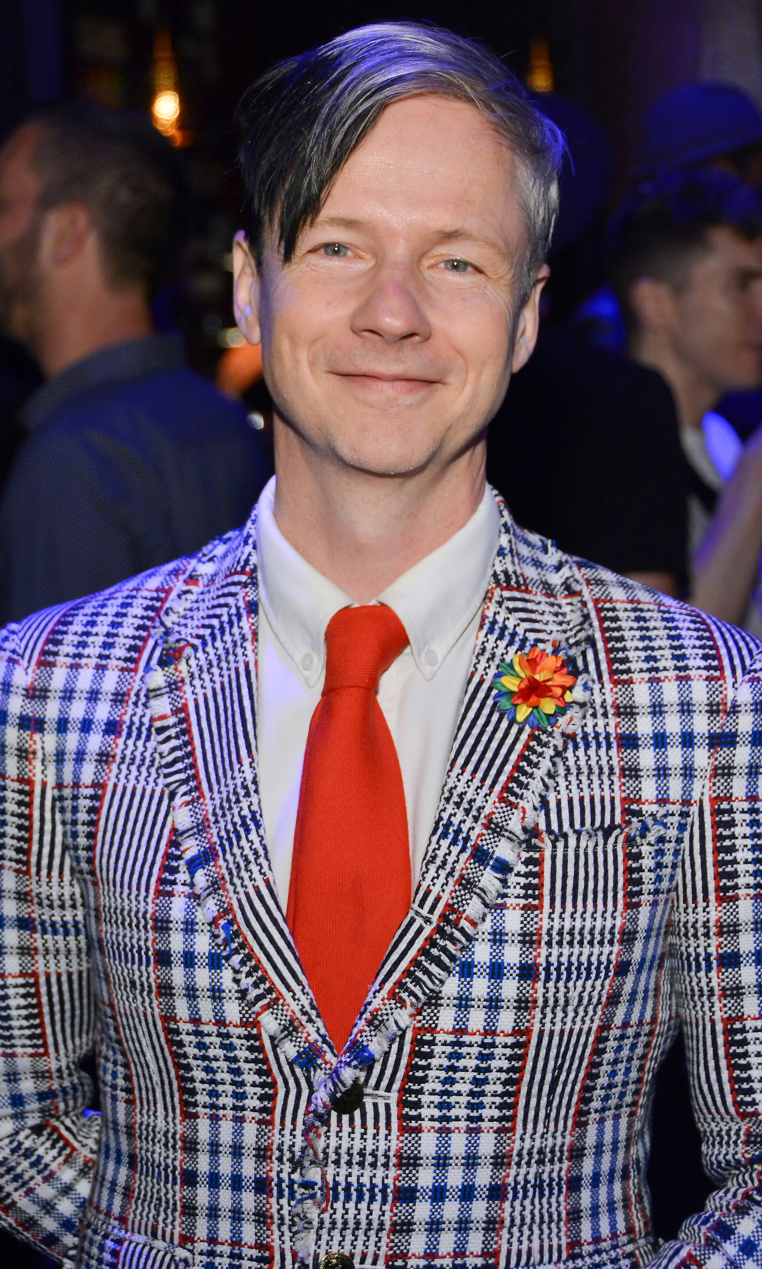 Actor, playwright, screenwriter, and director John Cameron Mitchell attends the 2nd Annual Queerty %22Pride50%22 wearing Fleur'd Pins Pride Satin Dahlia - photo by Andrew Werner.jpg