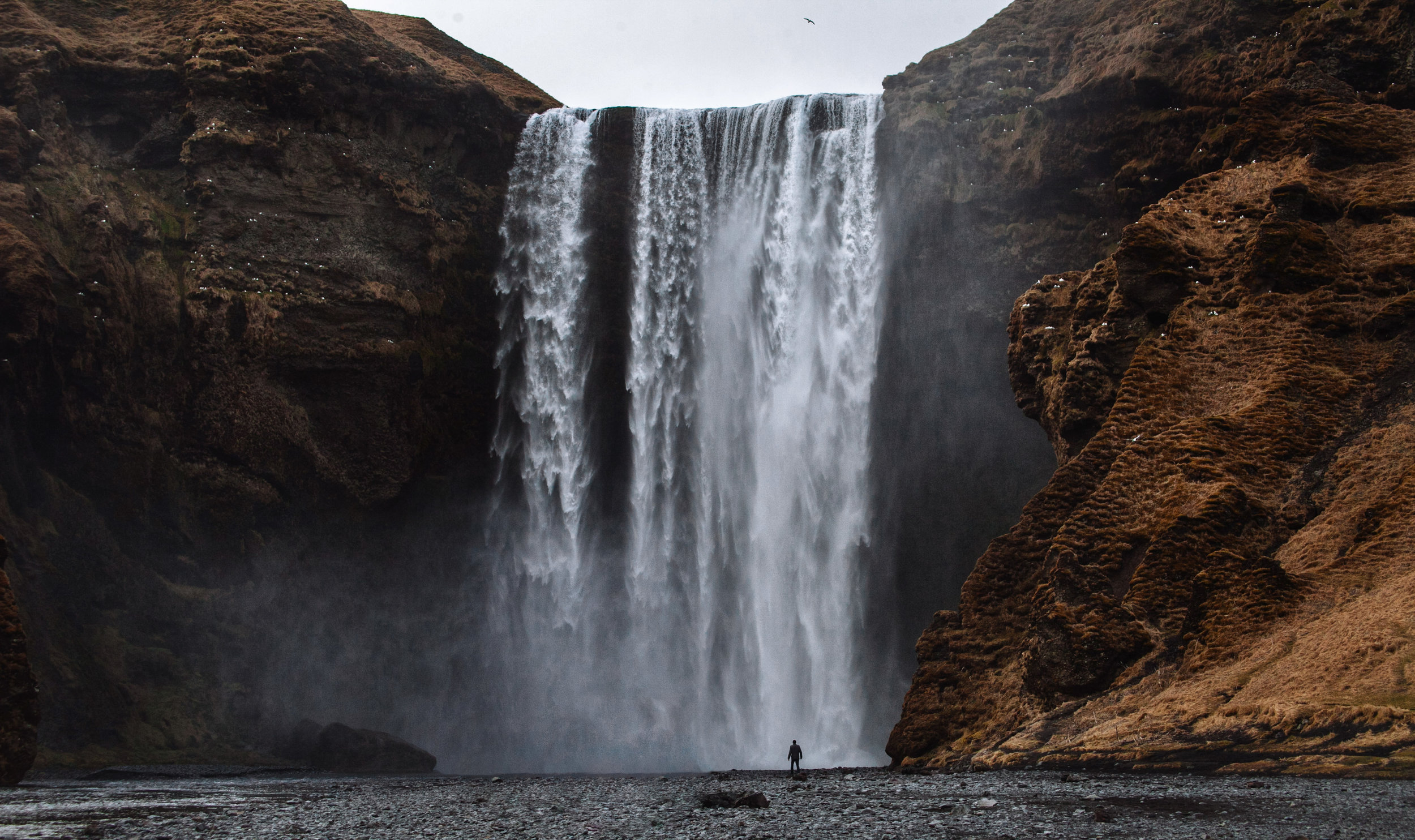 Mighty Skogafoss, Iceland
