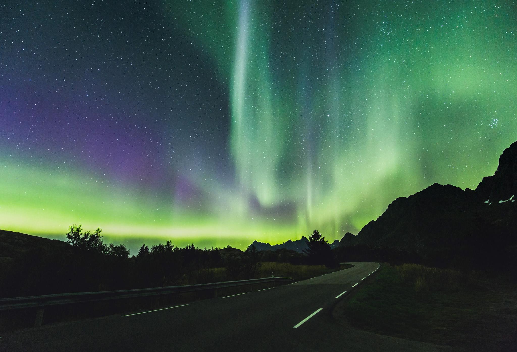 Aurora, Lofoten, Norway